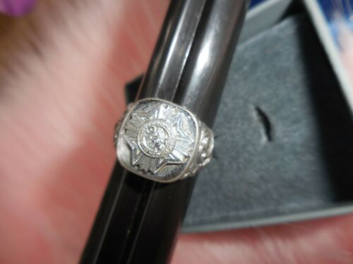Vintage VETERANS OF FOREIGN WARS US ARMY RING