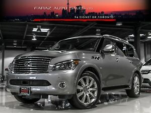 2014 Infiniti QX80 8PASS|TV/DVD|BLINDSPOT|LDW|TECH|LOADED
