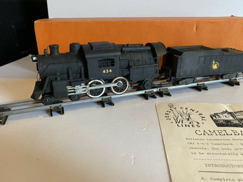Ballston Locomotive Works (BLW) American Flyer S scale Camelback Steam Engine