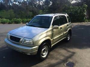 1999 SUZUKI VITARA 4X4 WAGON ROADWORTHY &REGISTRATION Melbourne CBD Melbourne City Preview