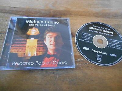 CD Klassik  Michele Tiziano - Belcanto Pop Of Opera (12 Song) SONY MUSIC