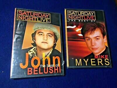 SNL Collection: The Best Of John Belushi & Mike Myers~2-DVD's (New & Sealed)