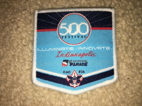 Boy Scout 2018 Crossroads America Council Indianapolis 500 Festival Parade Patch