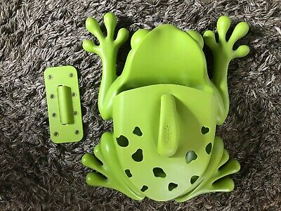 Boon Frog Pod Bath Tidy  Extra Large Ex Cond Toys Scoop Bathroom Kids Baby for sale  Crawley