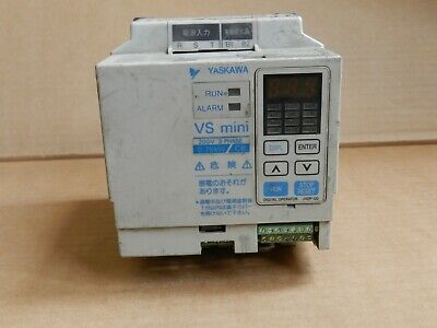 Yaskawa Inverter Cimr-xcba20p7 0.75kw 220v Tested