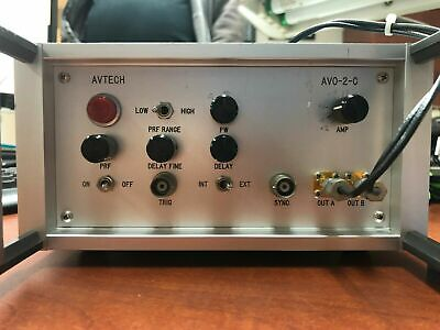 Avtech Avo-2w-c-p Laser Pulse Driver