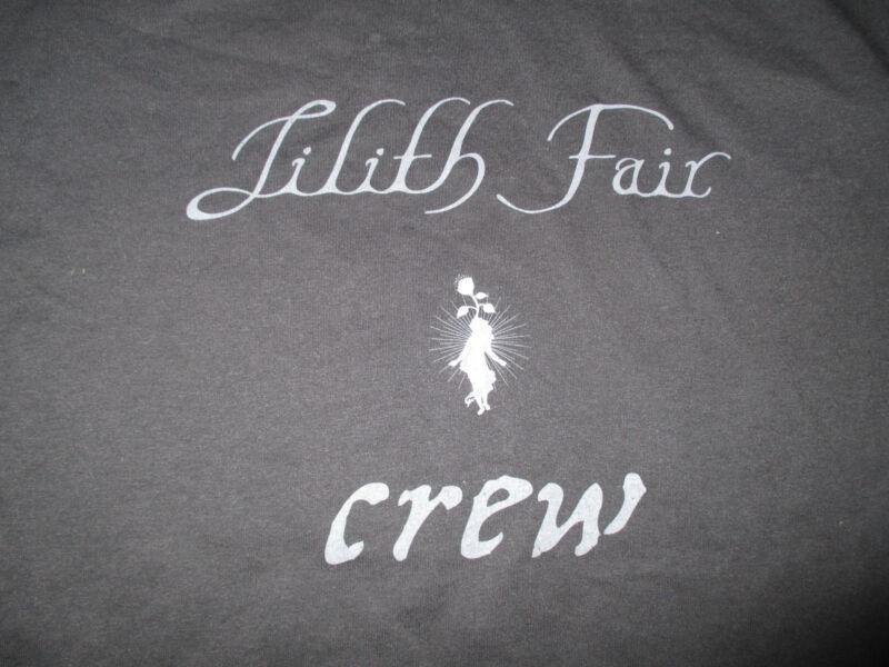LILITH FAIR CREW Concert Tour (XL) T-Shirt Sarah McLachlan Nettwerk Music Group