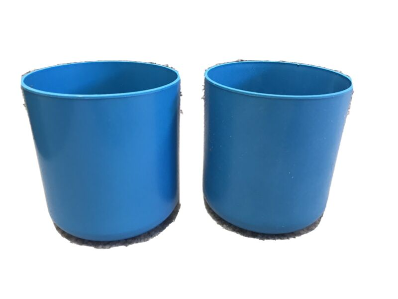 Set of 2 Beckman Bucket Insert 349846 Blue Sx4750 Holder 750mL Bottle Sleeve