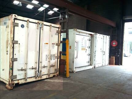 Reefer Refrigerated Container Cold storage Self Storage & Hire