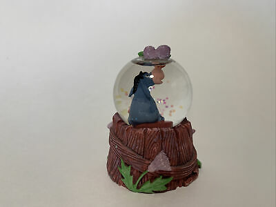 Disney Store: Winnie the Pooh Eeyore with Butterfly Collector's Mini Snow Globe