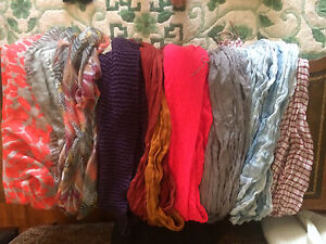 Scarves!! $5 for 8 or $1 each