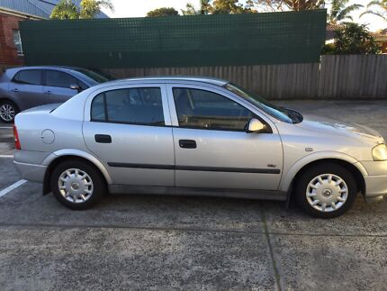 2001 Holden Astra Sedan Carnegie Glen Eira Area Preview
