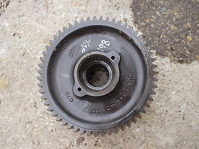 Ford 861 Tractor Original Transmission Top Drive Gear W Shaft Bearing