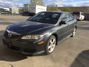 2004 Mazda 6 *AS IS*