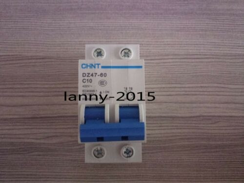 1pc New  Chnt Dz47-60 2p C10a