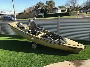 Hobie 12ft pro angler kayak, olive green colour. Leongatha South Gippsland Preview
