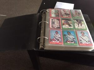 1970s Hockey Card Collection $900