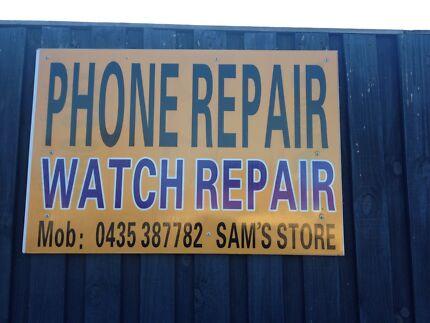 SAM'S STORE PHONE REPAIR: 4/4s $45 5 /5s /5c from $69