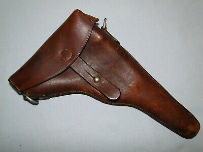 SWISS LUGER HOLSTER FOR M1900  DATED 1902 KUNZ & JACOB BERN