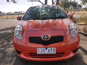 Toyota yaris YRS  auto 2007 H/back Delahey Brimbank Area Preview