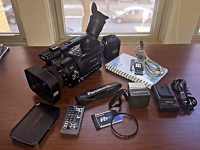 Panasonic HVX 200 HVX200 1080i 3ccd HD P2 Camcorder With Extras LOW HOURS (346)