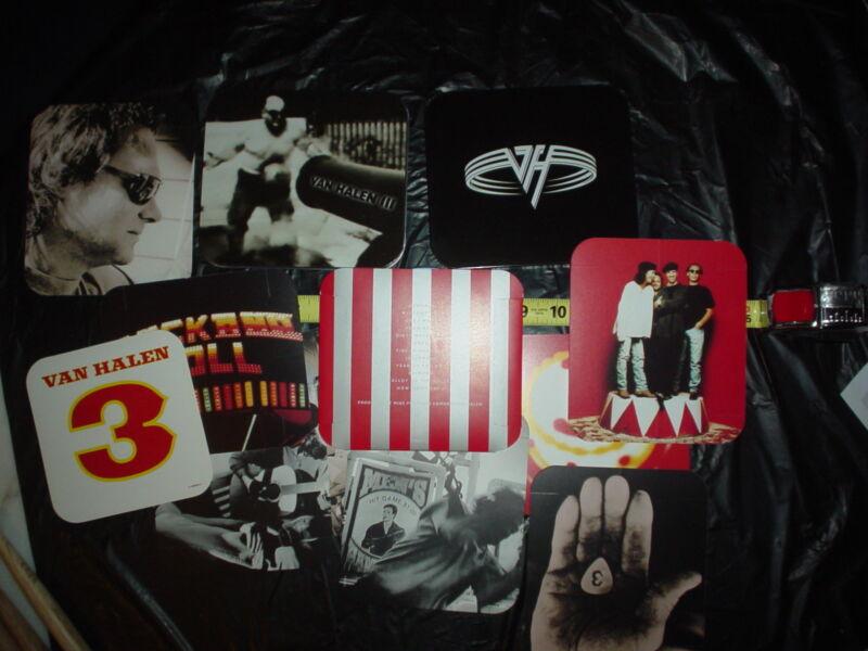 VAN HALEN 31998 Limited Edition CD & Tin Stickers Cards R.I.P Eddie EVH