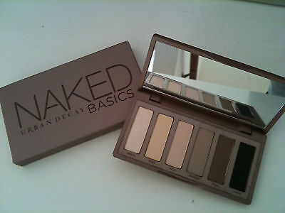 URBAN DECAY NAKED BASICS EYE SHADOW PALETTE NEW AUTHENTIC on Rummage