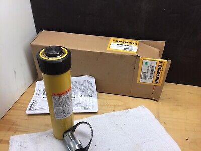 Enerpac Rc-106 Hydraulic Cylinder 10 Tons 6-18in. Stroke New