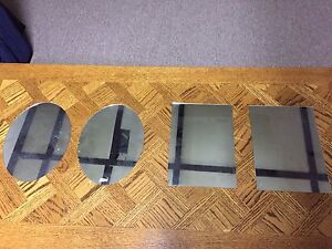 Mirrors for car shows
