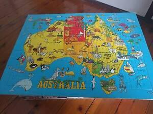 Cartoon Australia Puzzle Macquarie Fields Campbelltown Area Preview