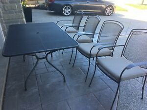 Patio Dining Set by Kettler - 4 chairs + table