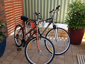 Bike bicycles his and hers Canning Vale Canning Area Preview