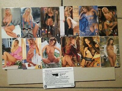 TK USA Telefonkarte/Phonecard Set of 12 neu selten 10000 ex playboy erotik