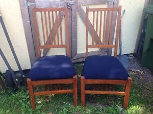 2 Large Chairs