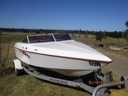 Haines Malibu Force  Baja Outlaw 2150 Mercruiser Ski Boat V8 efi