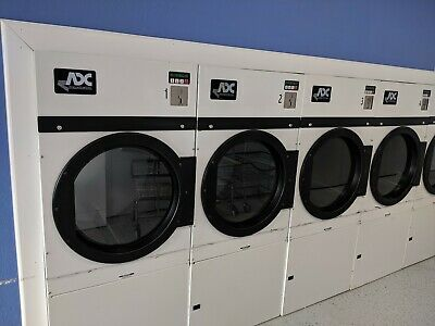 Coin Operated 20lb Dryer American Dryer Corp Adc Ad-24 Ad24 Used