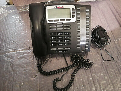 Allworx 9224 Voip Display Phone W Stand Stand Power Cord