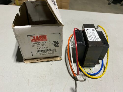 One (1) Jard Magnetics Transformer 4021F Class 2 50/60Hz, NOS