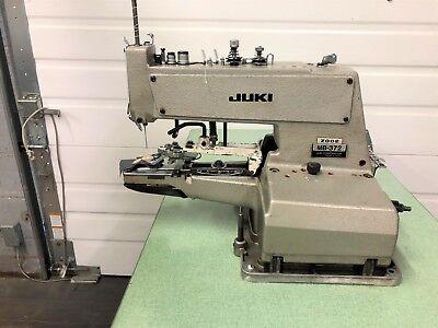 Juki Mb-372  X Stitch  Button Sewer 220 Volt Industrial Sewing Machine
