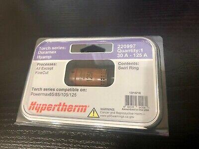 Hypertherm Duramax 30-125 Amp Swirl Ring 220997