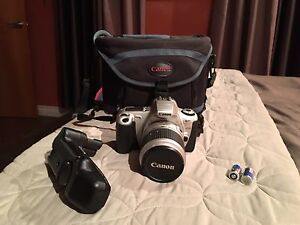 Canon EOS Rebel camera & portable PSP with lots of extras