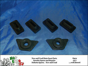 moto guzzi v35 / v50 / v65 side panel mounting rubbers - 2 panels