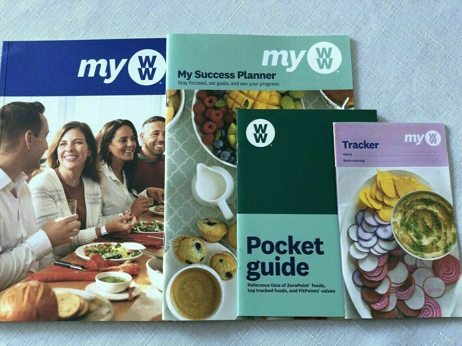 MY WW 2020 - NEW Food Plans - Green, Blue, Purple - Complete Guide Set NEW PLAN