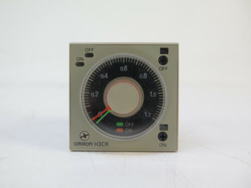 Omron H3CR-F8-300 Twin Timer Relay 12s-300h 100-240VAC