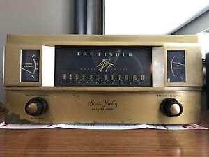 Rare The FISHER FM-90X Series Ninety Gold Cascode TUBE TUNER