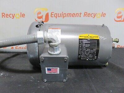 Baldor Reliance Vm3554t Industrial Motor 1.5 Hp 1755 Rpm