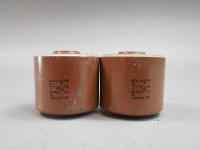 New CJE .00047uF 15KV METALLIZED POLYESTER High Voltage Capacitor
