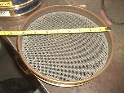 Gilson Us Standard Test Sieve 8 1.4mm 0.0555 No. 14 Brass 655