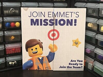 Movie Cutouts (Lego Movie 2 Target Event Guide With Paper Minifigure Cutouts And)