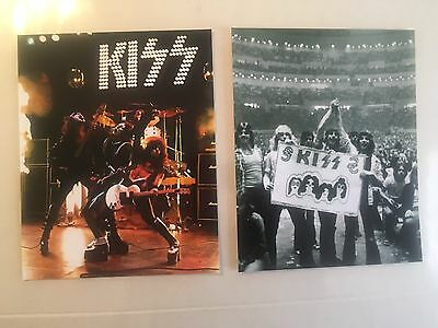 Kiss 1970's Lot Of Two Alive Era 8 X 10's